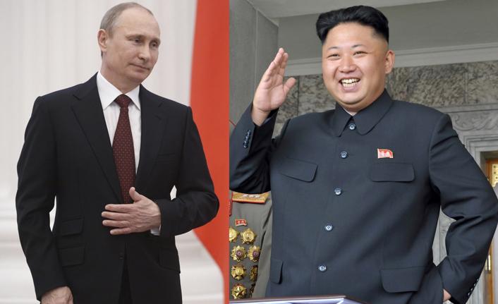Putin ile Kim buluştu