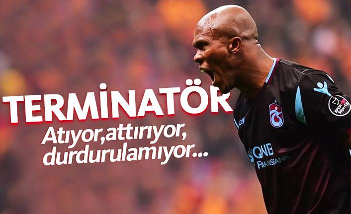 Trabzonspor'da Nwakaeme'nin gözü şimdi Fener'de