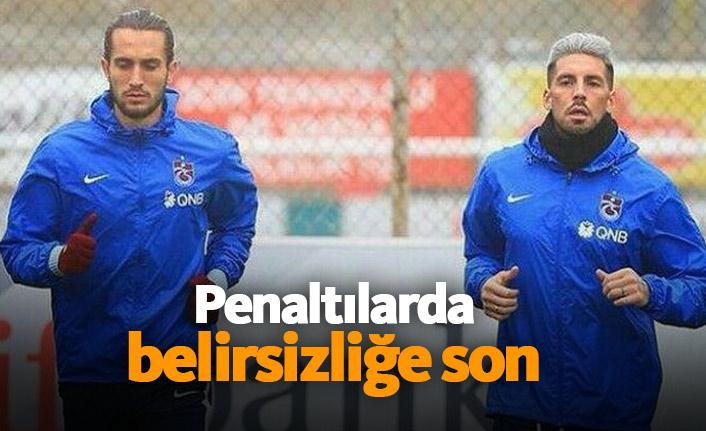 Trabzonspor'da penaltı belirsizliğine son