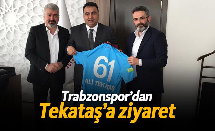 Trabzonspor'dan Tekataş'a ziyaret