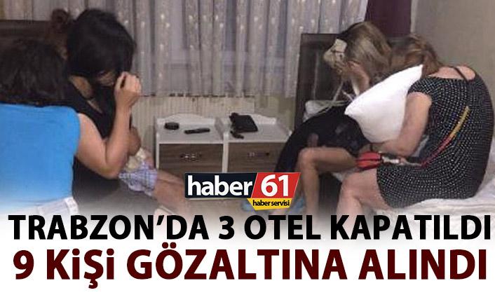 Trabzon'da 3 otel kapatıldı!