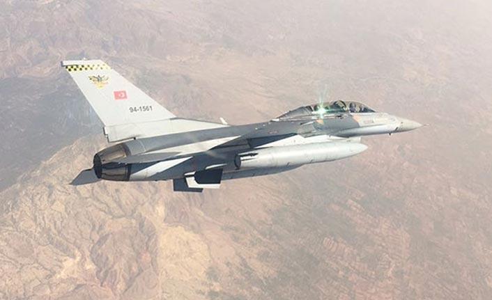 Kuzey Irak'a hava hareaktı