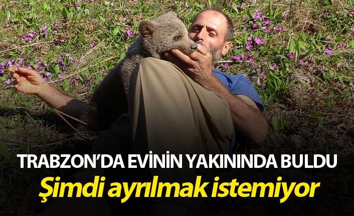 Trabzonlu'dan örnek davranış - Evinin yakınında buldu şimdi ayrılmak istemiyor