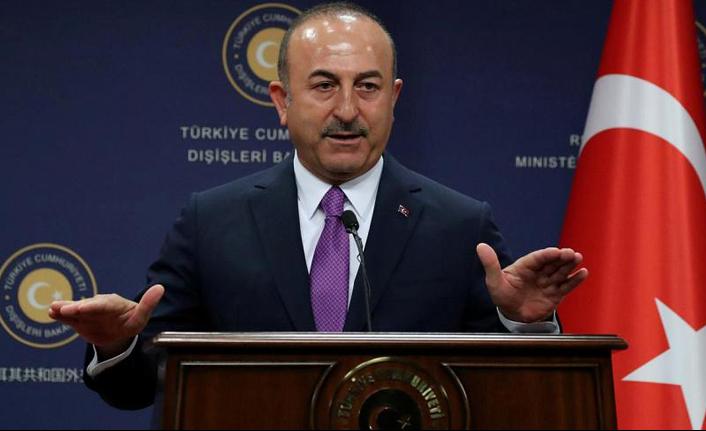 """Bakan Çavuşoğlu : """"Irak topraklarından tüm terör örgütlerinin temizlenmesi gerekiyor"""""""
