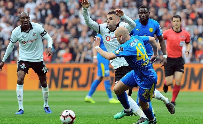 Beşiktaş Ankaragücü'nü mağlup etti