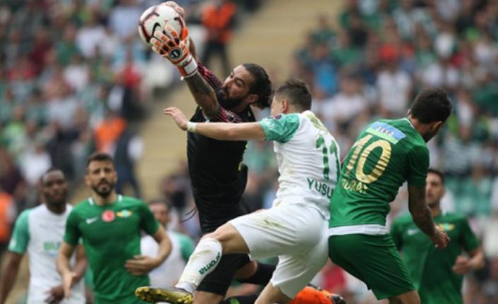 Bursa'da sessiz maç!