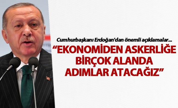"""Cumhurbaşkanı Erdoğan'dan """"ortak payda"""" mesajı"""