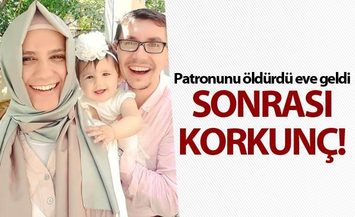 Dehşet! Patronunu eşi ve kızını öldürüp intihar etti!