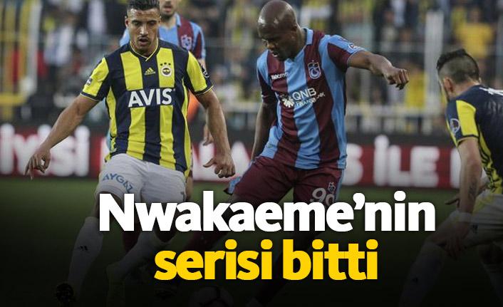 Nwakaeme'nin serisi 7 maç sürdü