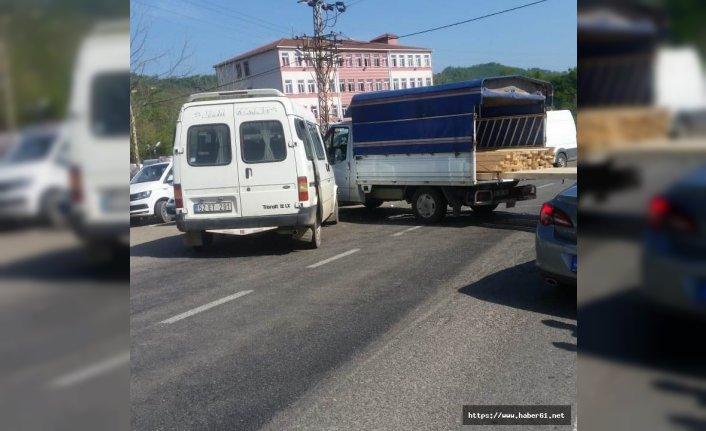 Ordu'da trafik kazası!