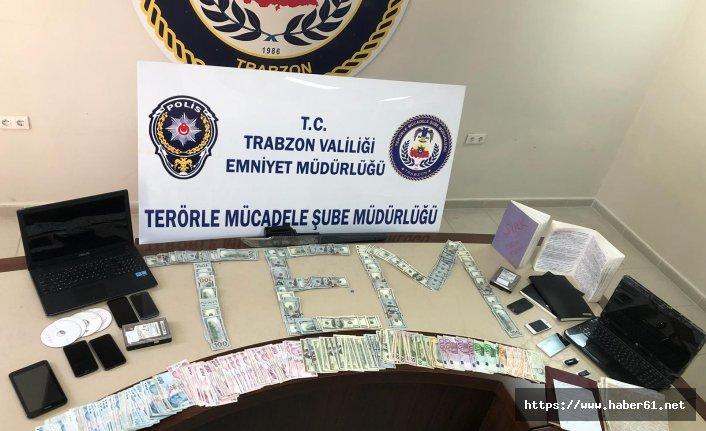 Trabzon'da DEAŞ operasyonu! Evlerinden çıkanlar şok etti!