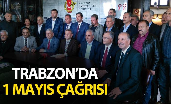 Trabzon'da 1 Mayıs Çağrısı