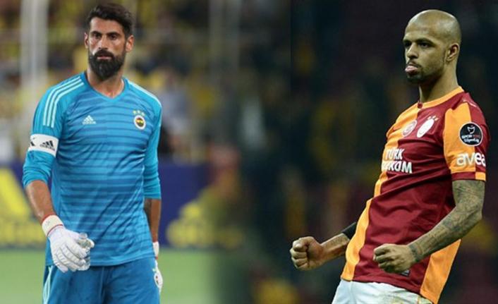 Felipe Melo'dan Trabzonspor maçı üzerinden Volkan Demirel'e gönderme!