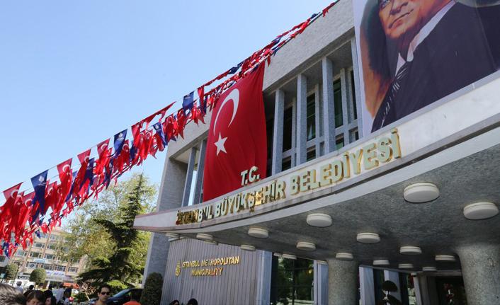 İstanbul Büyükşehir Belediyesi binasına 'T.C.' ibaresi eklendi