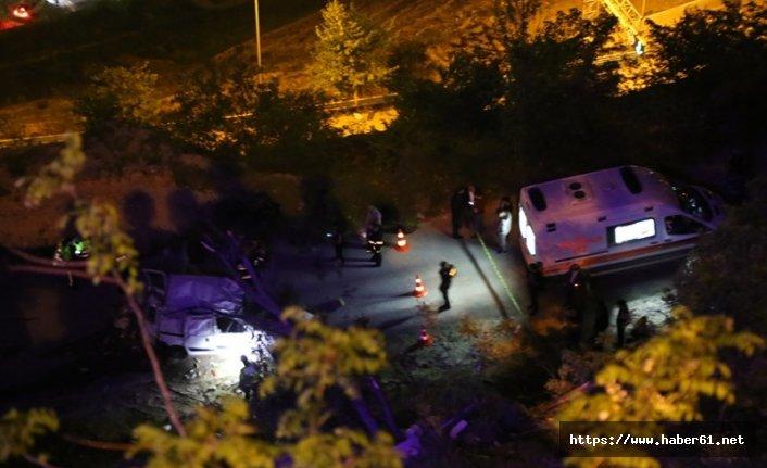 Artvin'de trafik kazası can aldı