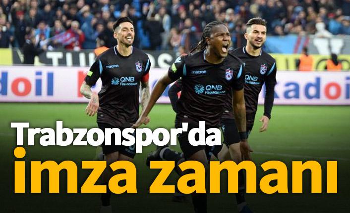 Trabzonspor'da imza zamanı!