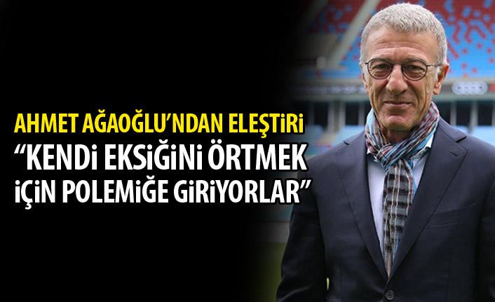 """Ahmet Ağaoğlu'ndan gönderme: """"Polemiğe girenler eksikleri olanlardır"""""""