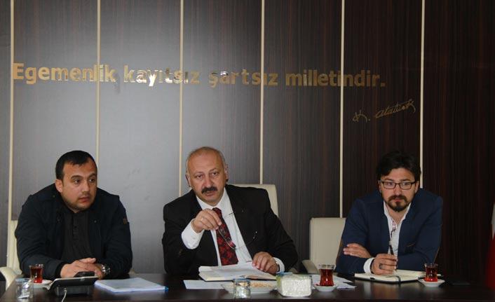 Araklı'da Belediye Meclisi toplandı