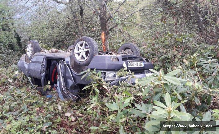 Giresun'da feci kaza! Hayatını kaybetti!
