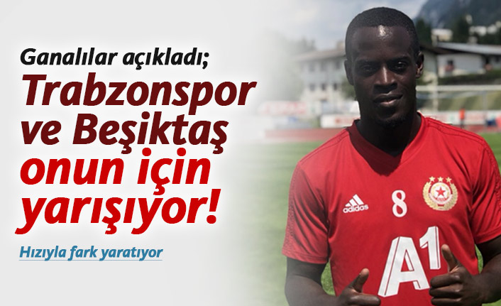 Gana'dan Trabzonspor iddiası! Edwin Gyasi...