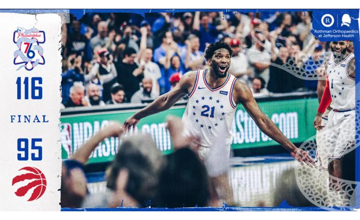 Philadelphia 76ers seride öne geçti