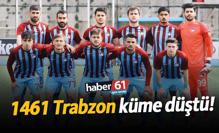 1461 Trabzon küme düştü!