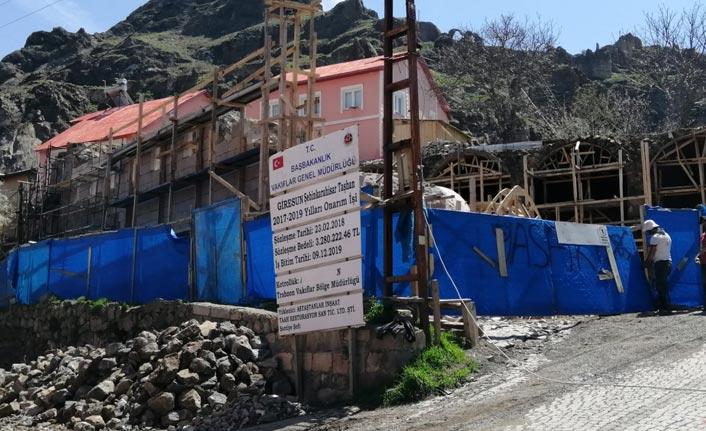 Giresun'da 200 yıllık taşhan restore ediliyor