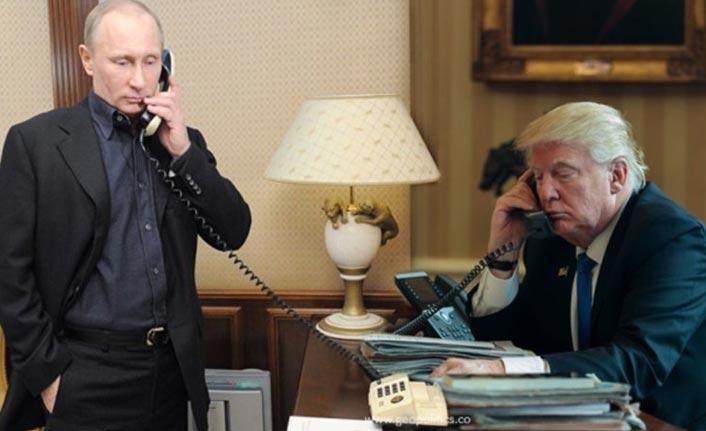 Putin ile Trump 1.5 saat görüştü!