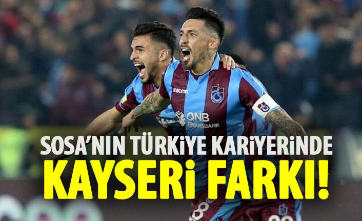 Sosa'nın Türkiye kariyerinde Kayseri'nin yeri farklı