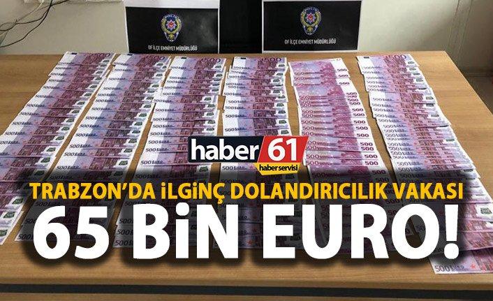 Trabzon'da oyuncak para ile alışveriş yapmaya çalıştı!