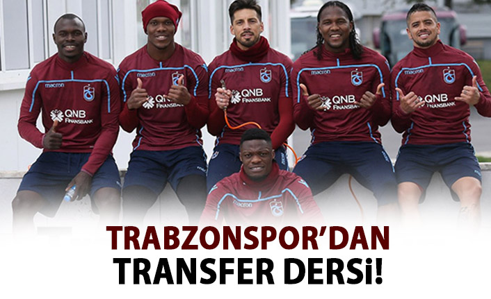 Trabzonspor'dan transfer dersi!