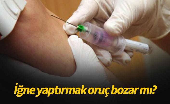 İğne yaptırmak ve aşı olmak orucu bozar mı? Diyanet fetva yayınladı mı?