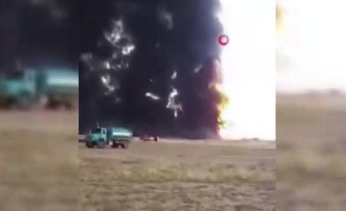 İran'da petrol borusunda patlama oldu