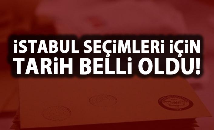 İstanbul'da yeni seçim tarihi belli oldu