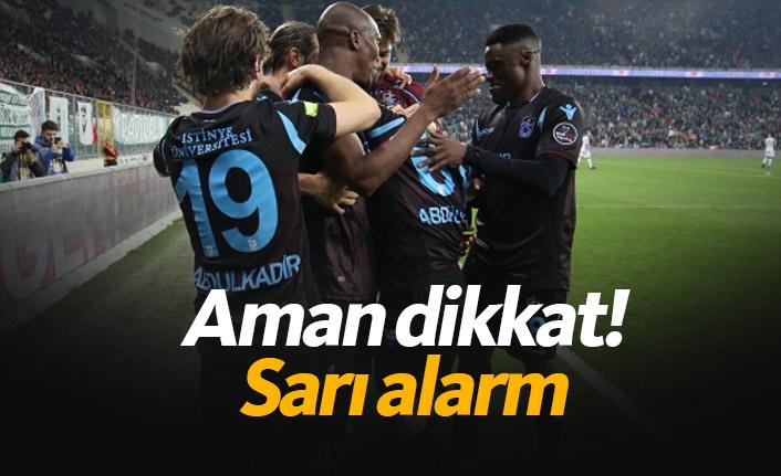 Trabzonspor'da 5 isim sınırda