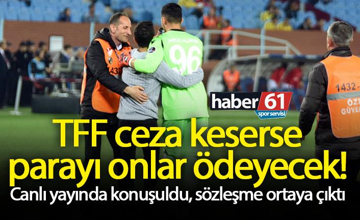 Trabzonspor'a verilecek cezayı onlar karşılayacak!