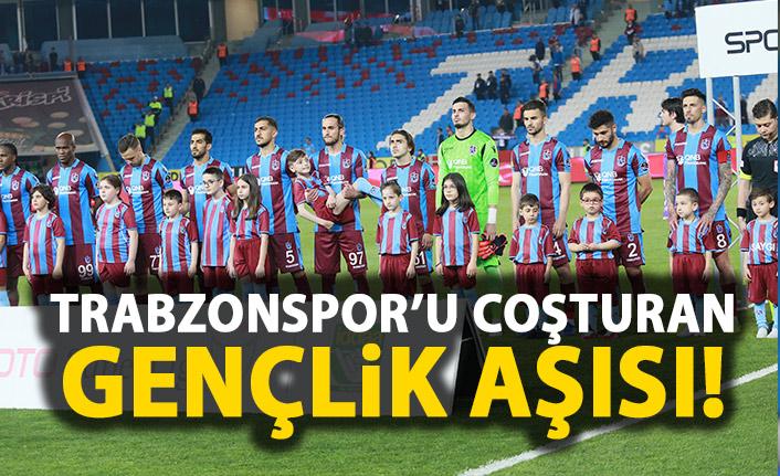 Trabzonspor'u gençleri coşturuyor!