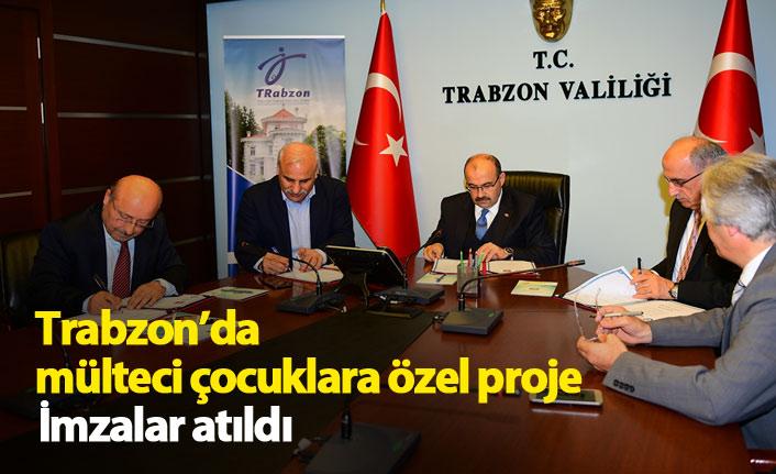Trabzon'da mülteci çocuklar için proje!