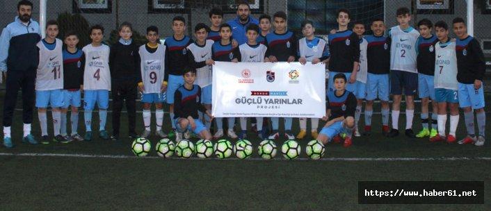 Trabzonspor'da o proje hayata geçti