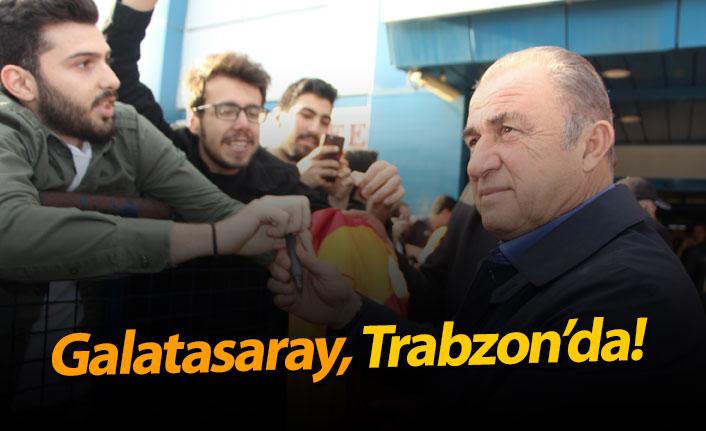 Galatasaray Trabzon'da!