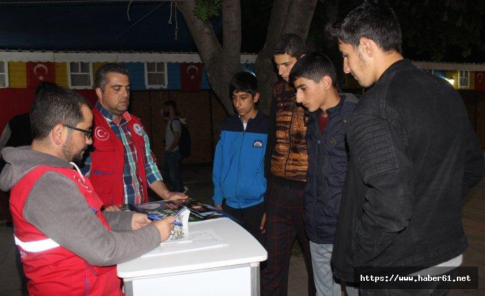 Gençlik kampları tanıtımları devam ediyor
