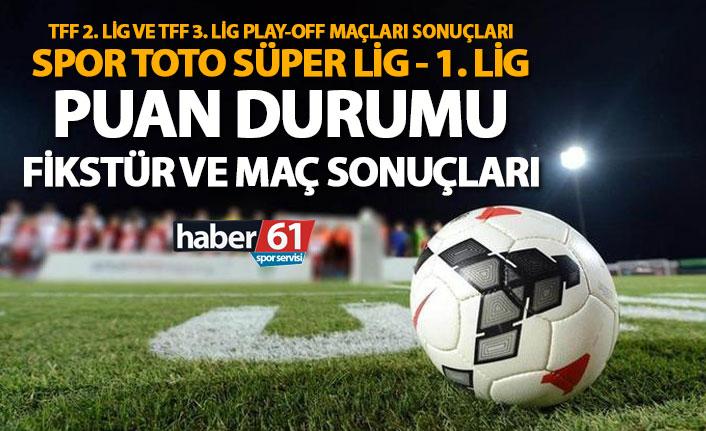 Spor Toto Süper Lig - 1. Lig | Puan Durumu, Fikstür ve Maç Sonuçları