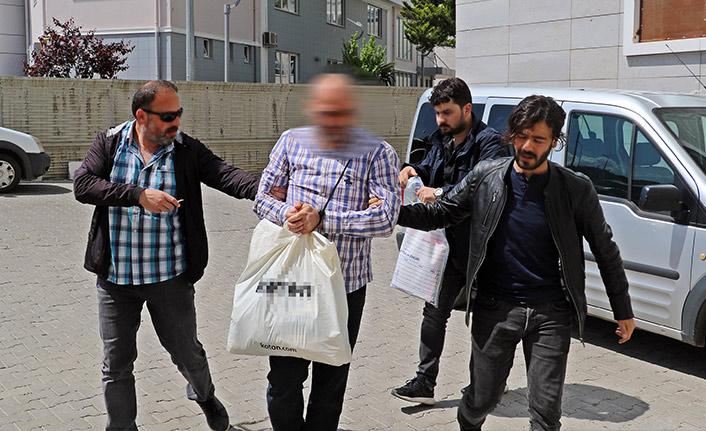 Trabzon'da aranan  FETÖ şüphelisi gizli bölmede yakalandı