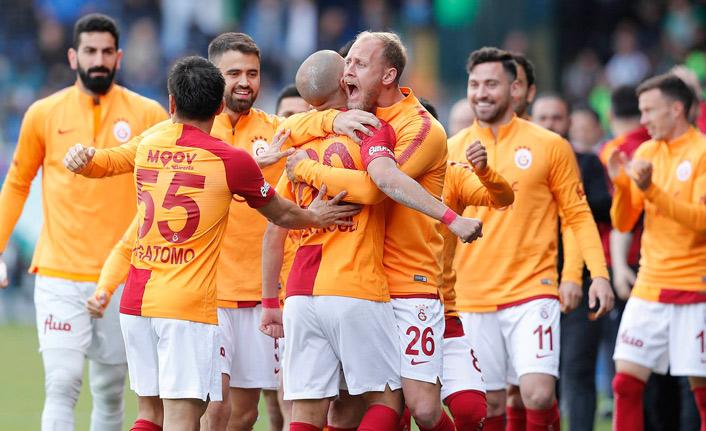 Rize'de kazanan Galatasaray!