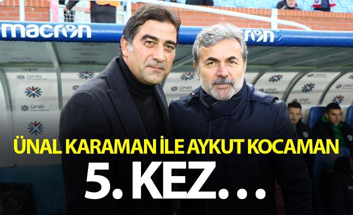 Ünal Karaman ile Aykut Kocaman 5. kez