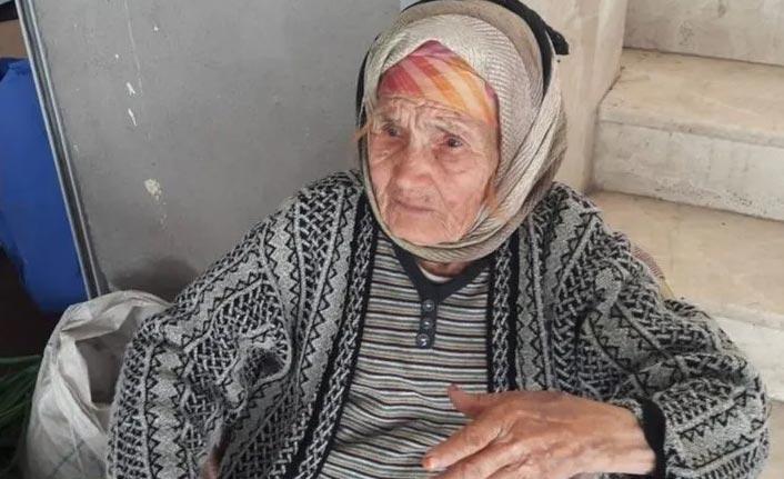 Kaybolan 100 yaşındaki kadından haber var