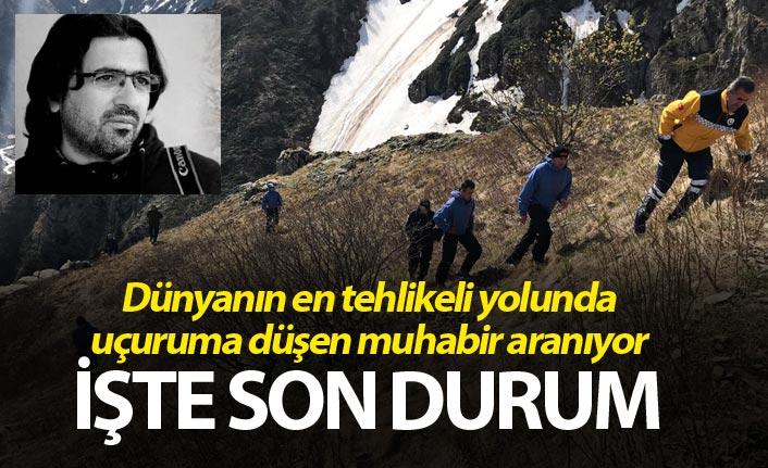 Trabzon Bayburt yolunda uçuruma düşen muhabir aranıyor - Son durum