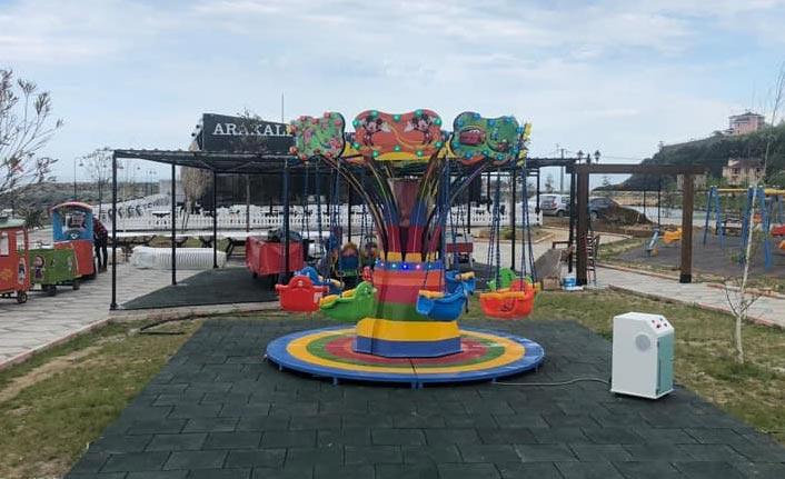 Araklı'ya yeni turizm tesisi