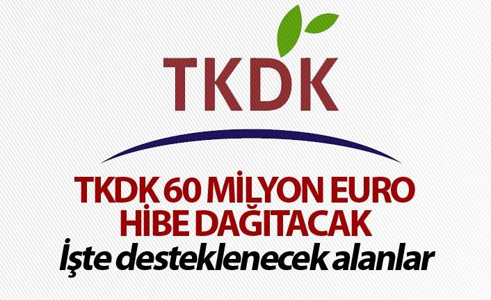 TKDK 60 Milyon Euro Hibe Dağıtacak