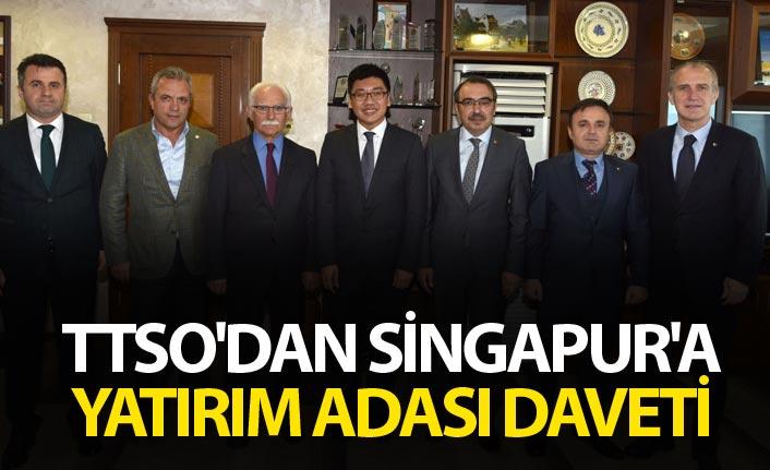 TTSO'dan Singapur'a yatırım adası daveti